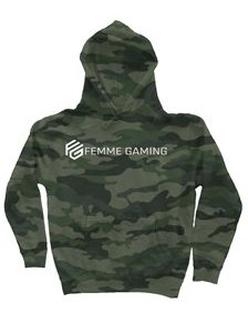 FG Camo Heavyweight Hoodie- With Woven FG Label